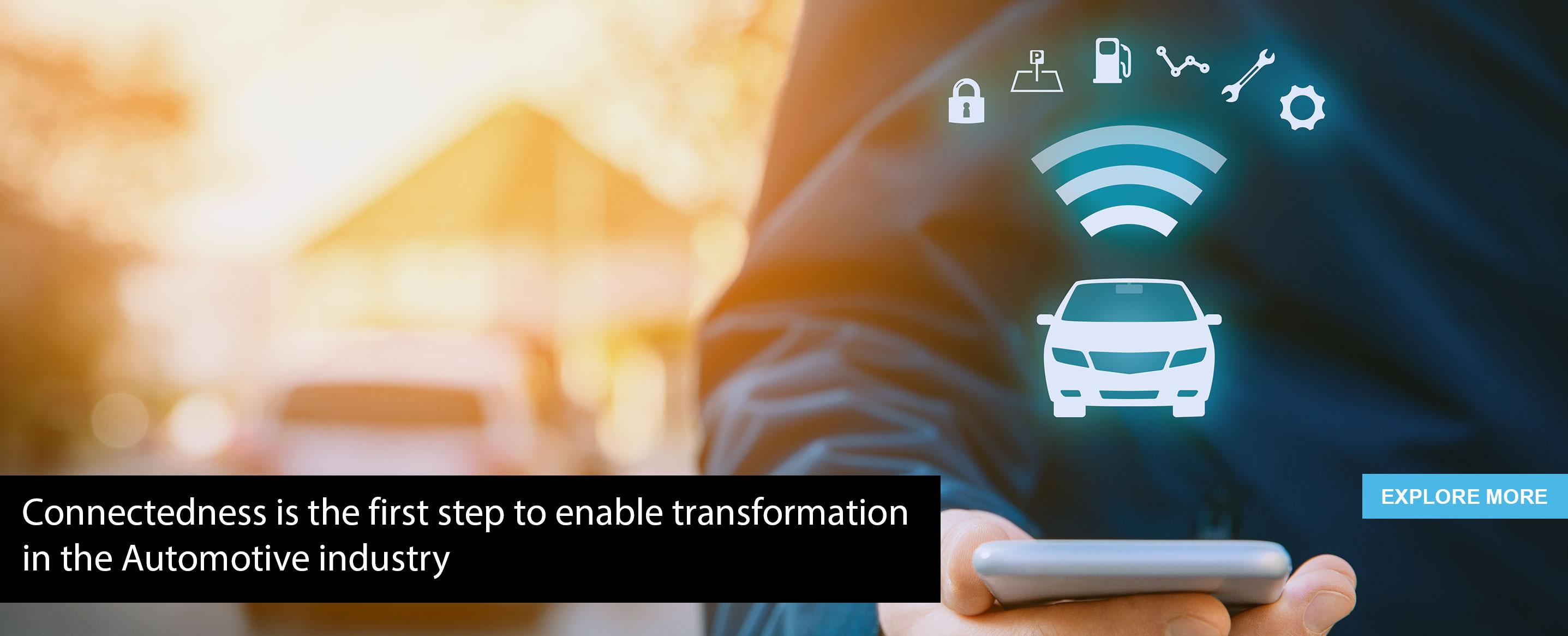 Connectedness is the first step to enable transformation in the automotive industry, says Nitin Pai of Tata Elxsi
