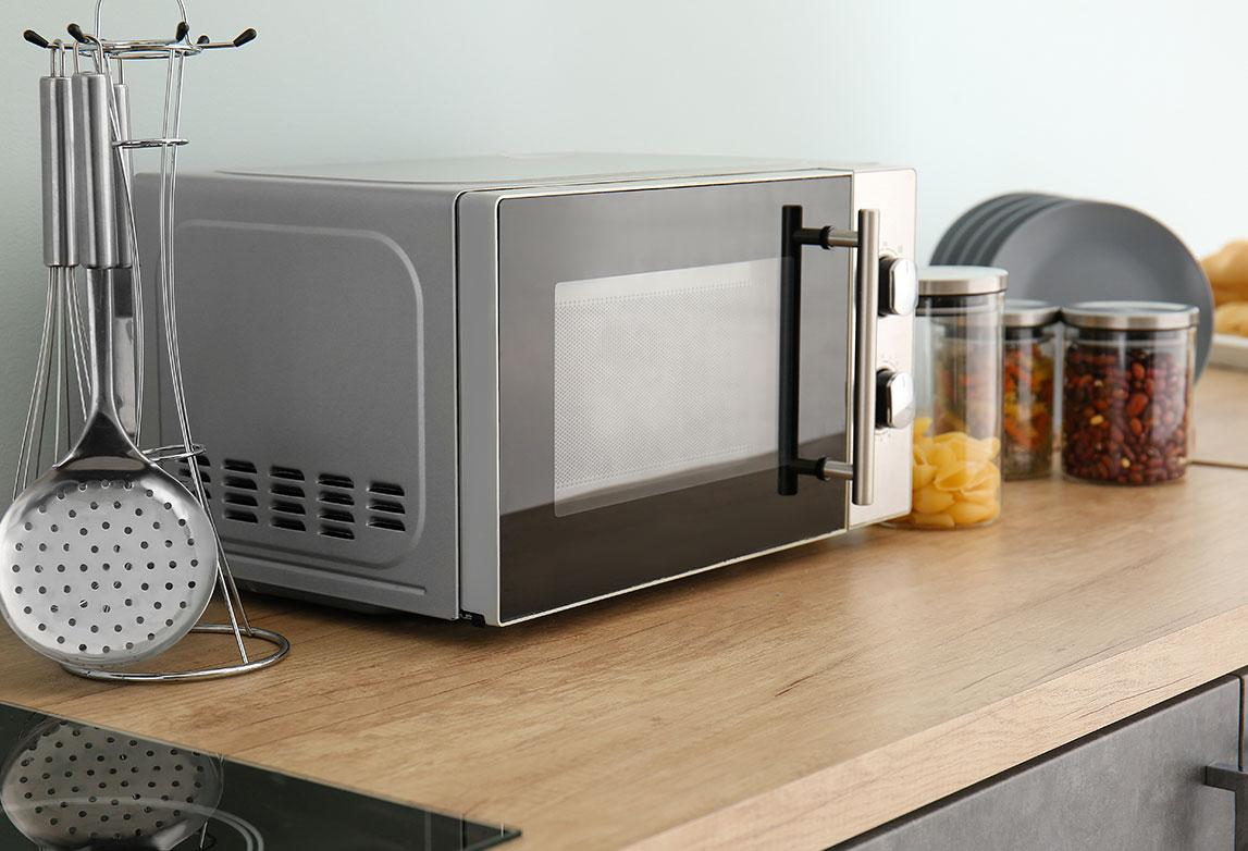 Smart microwave oven