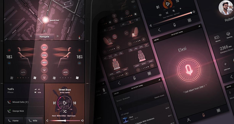 CES 2020 E-Cockpit