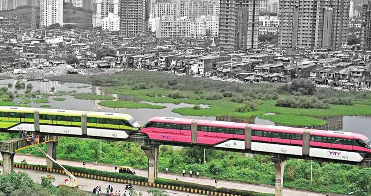 Mumbai Monorail - Building efficient way-finding design to ensure hassle-free travel
