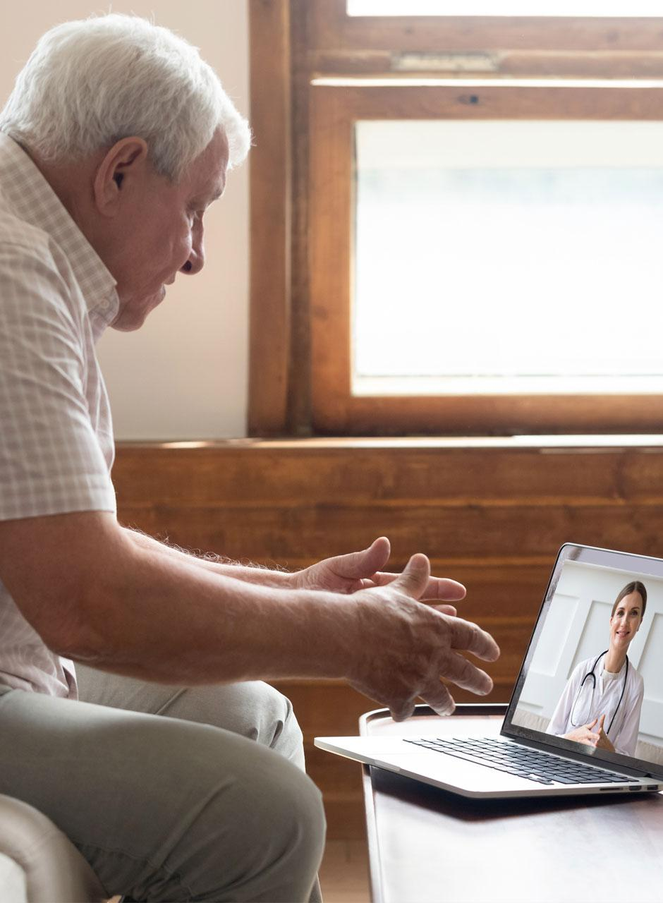 A web-based remote doctor-patient consultation application