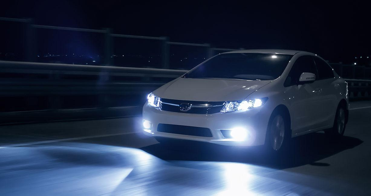 Developing automobile lighting solutions for enhanced driving experience