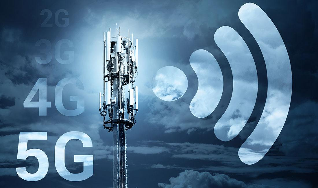5G slicing from Core to RAN for mMTC, URLLC, eMBB