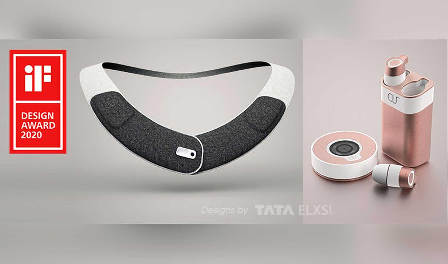 Tata Elxsi's Smart Assistive Wearable Wins International iF Design Award