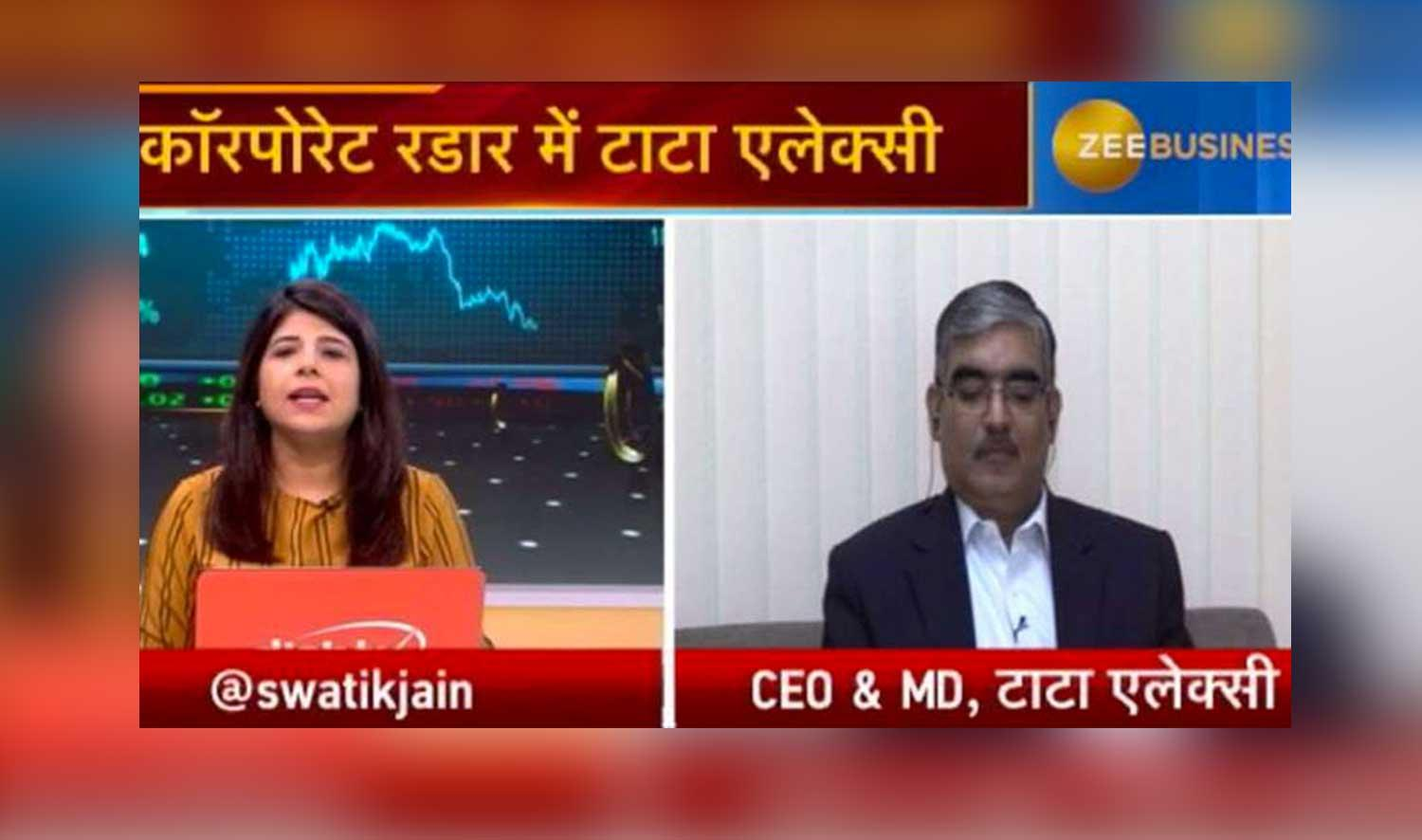 Manoj Raghavan, CEO & Managing Director, Tata Elxsi, talks about quarter results, growth drivers...