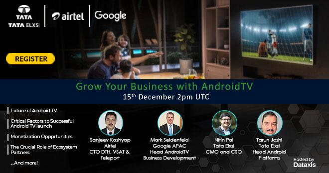 Grow your business with Android TV