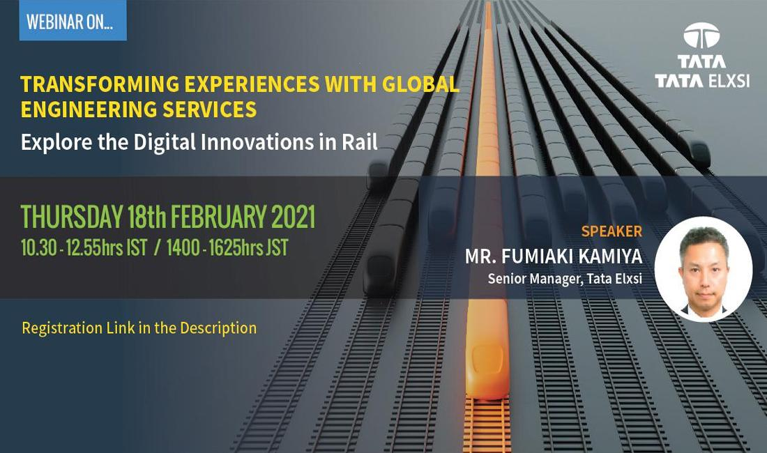 Global engineering for rail in Japan