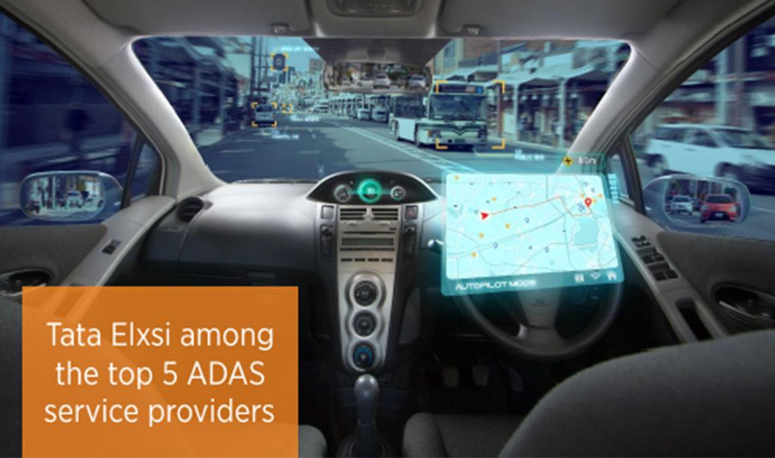 Tata Elxsi among Top 5 ADAS service providers worldwide