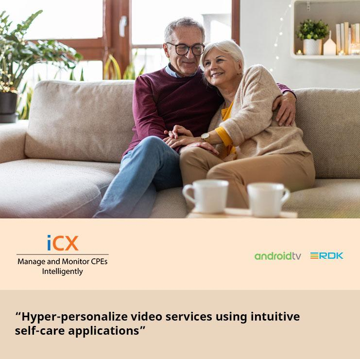 Hyper-personalize video services using intuitive self-care applications
