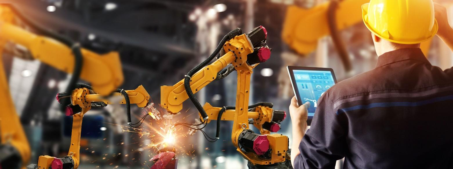Industry 4.0 is bringing the physical and virtual worlds together